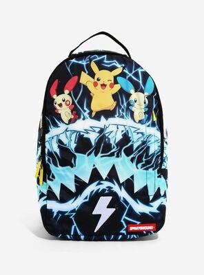 Mochila Pokemon Pikachu Electrico