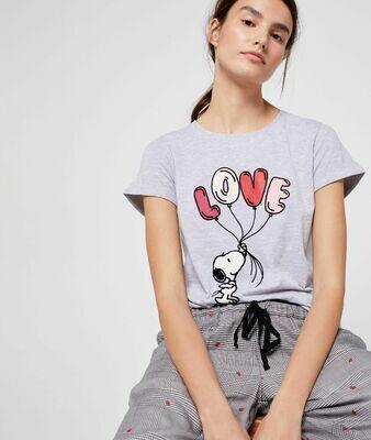Pijama Snoopy LOVE