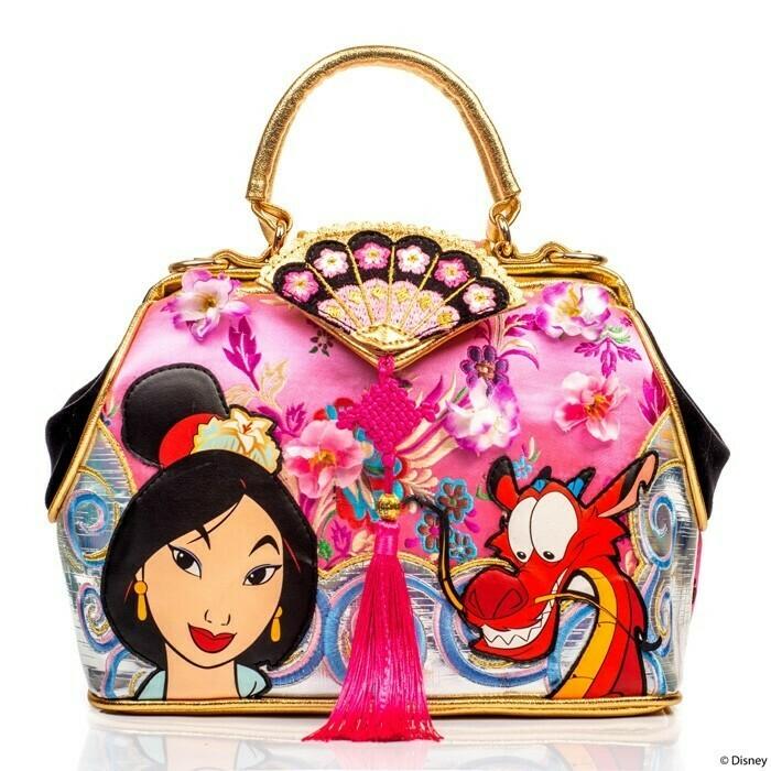 Bolsa Mulan Mushu Flores