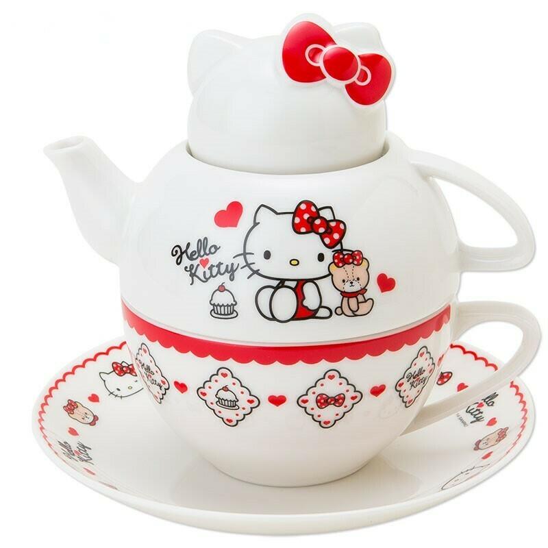 Juego Tetera Hello Kitty