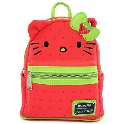 Mochila Hello Kitty M Fresas