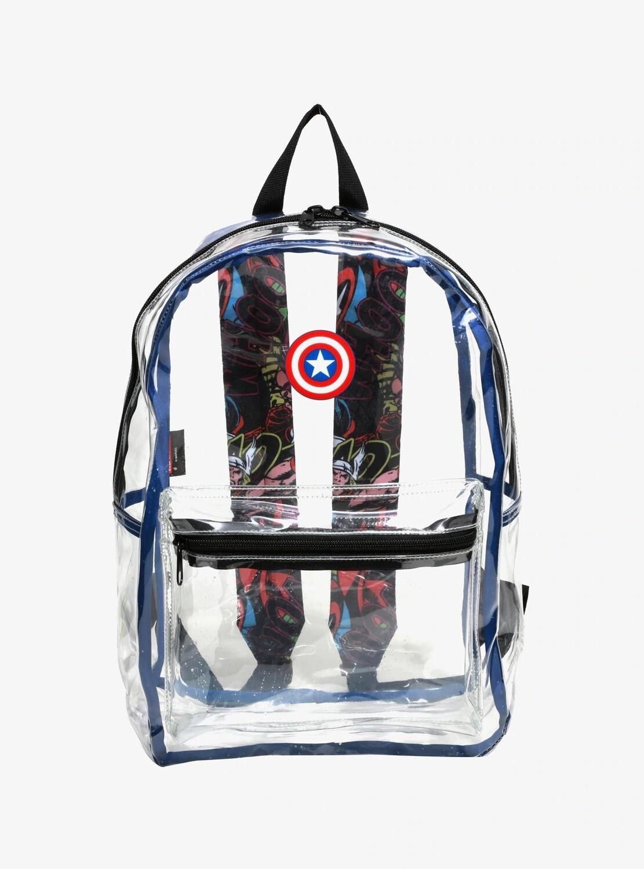 Mochila Avengers Transparente
