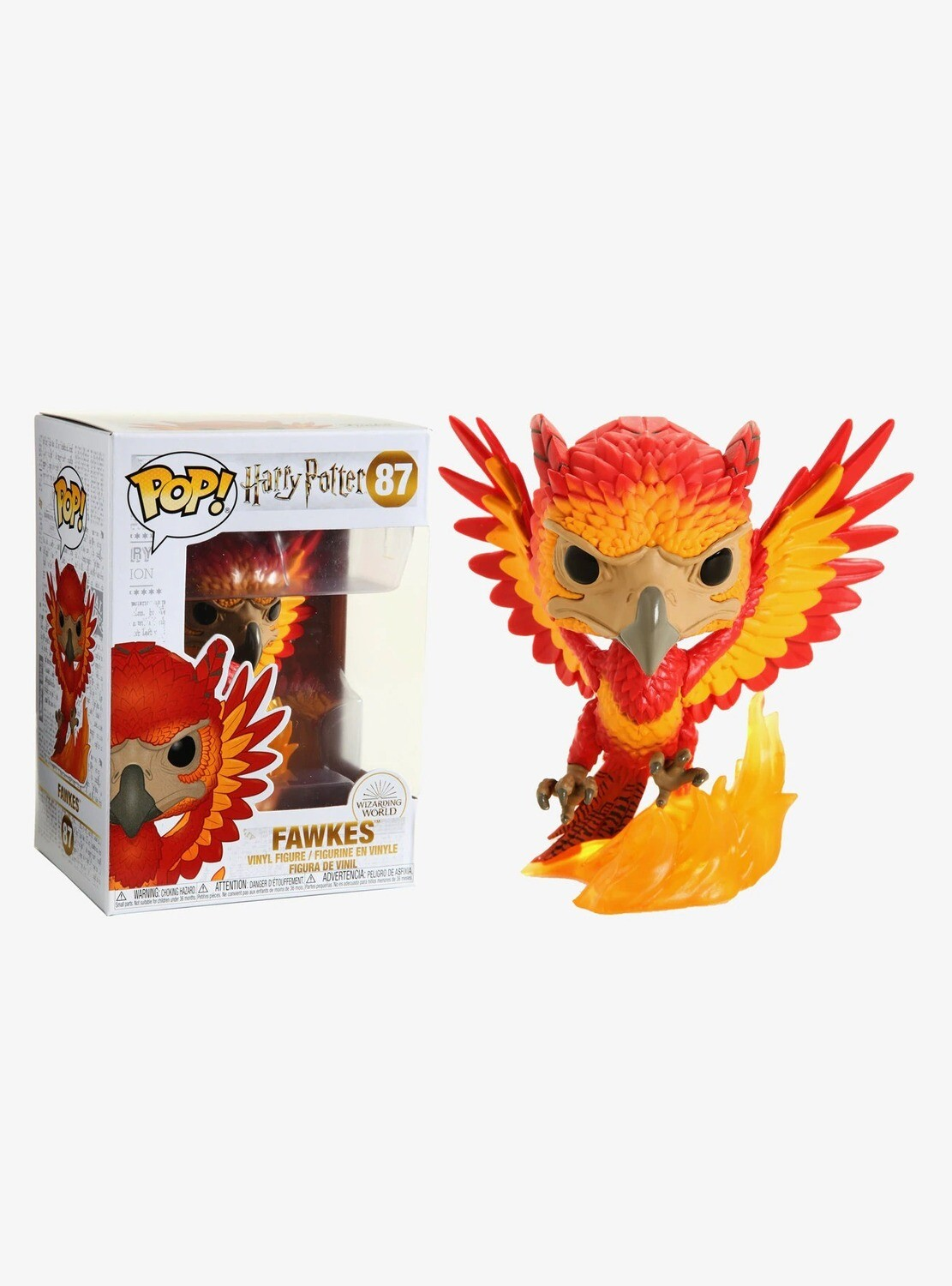 Figura POP Harry Potter 87 FAWKES