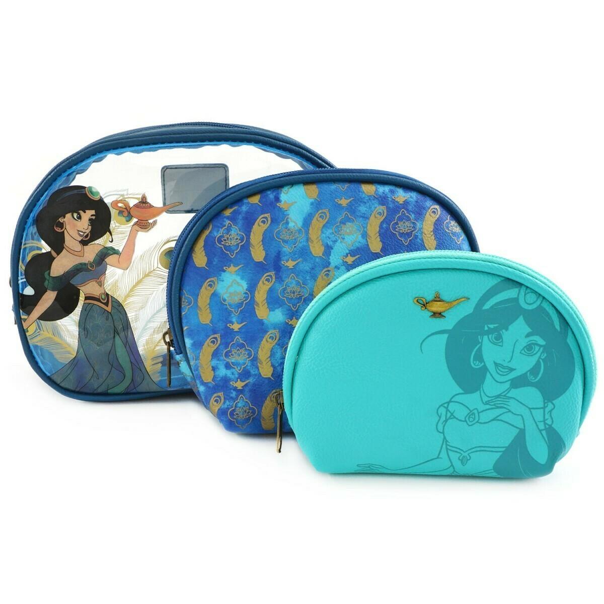 Set Bolsas Maquillaje Jasmine Disney EX