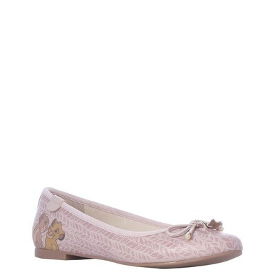 Zapatos Rey Leon Rosa