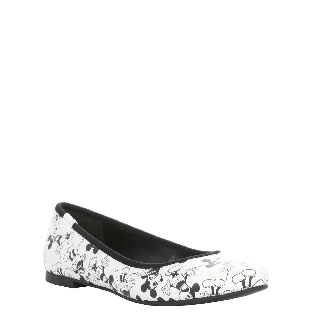 Zapatos Mickey Mouse Blanco Negeo