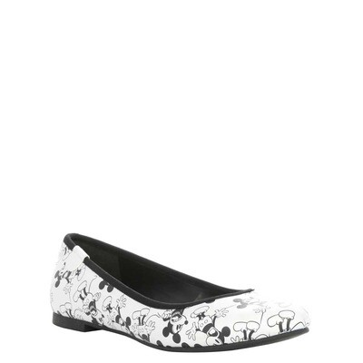 Zapatos Mickey Mouse Blanco Negeo