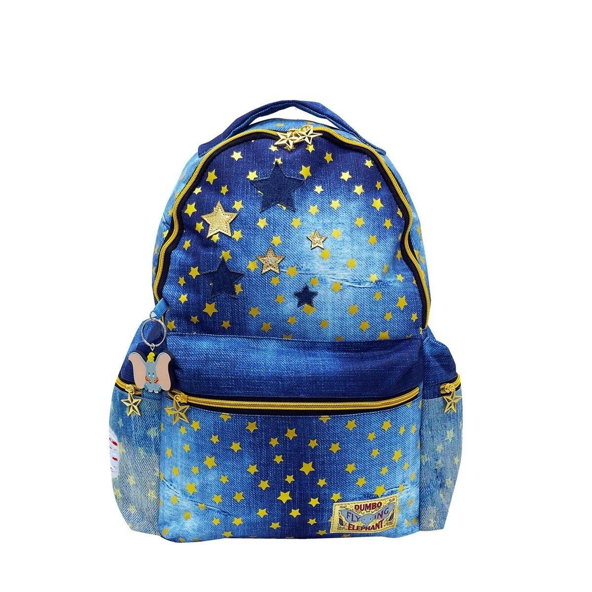 Bolsa Mochila Dumbo Azul Estrellas