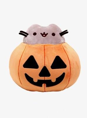 Peluche Pusheen Halloween Calabaza