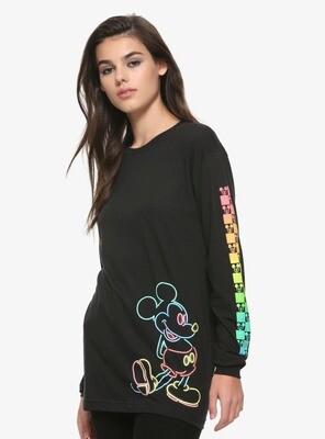Sudadera Mickey Negro Colores