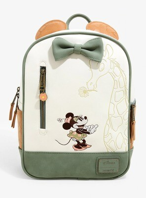 Bolsa Mochila Minnie Mouse Safari