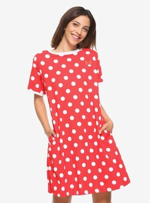 Vestido Minnie Mouse Cosplay