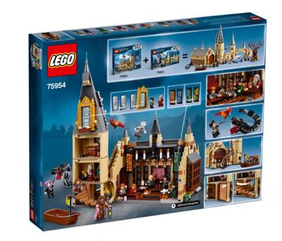 Lego Harry Potter Castillo EX