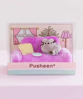 Mini Peluche Pusheen Sillon