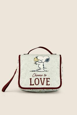 Bolsa Maquillaje Snoopy EXS