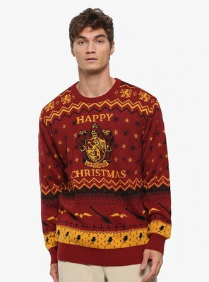 Sueter Navideño Harry Potter M2019