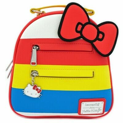 Bolsa Mochila Hello Kitty Arcoiris