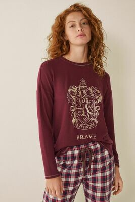 Pants Pijama Harry Potter Gryffindor