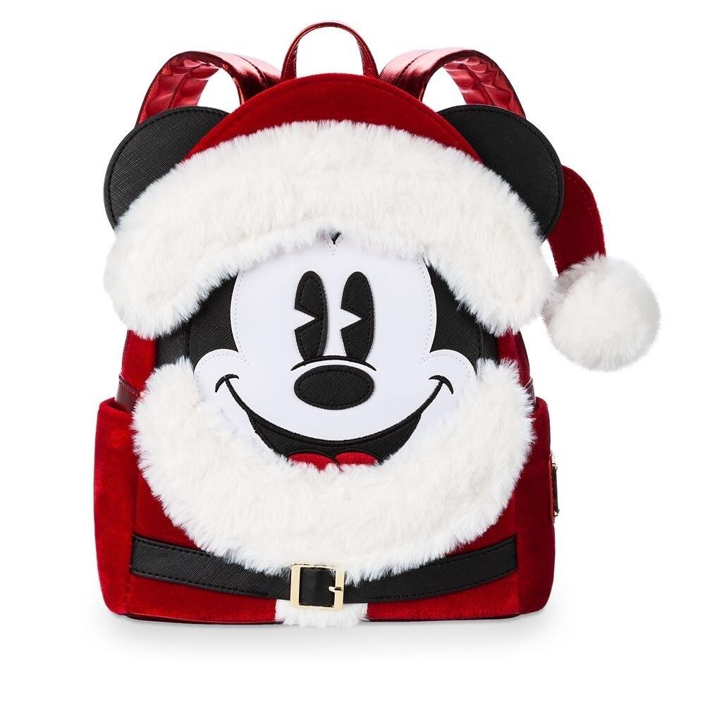 Bolsa Mochila Mickey Navidad 2019