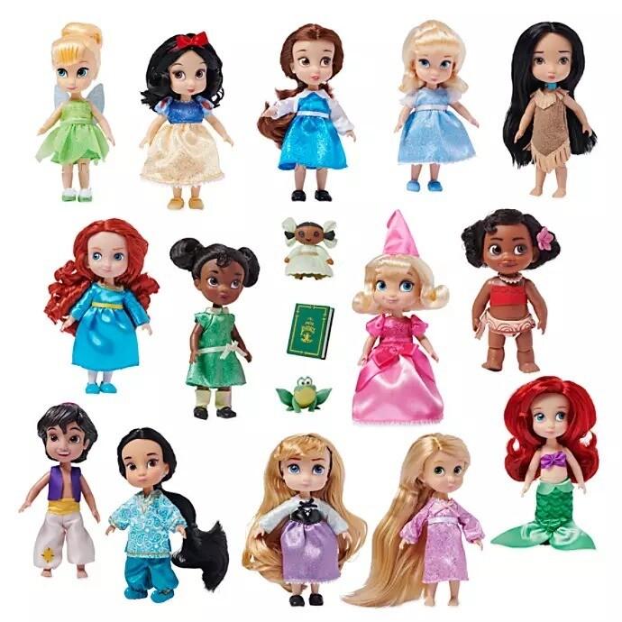 Set Mini Princesas Disney Regalo