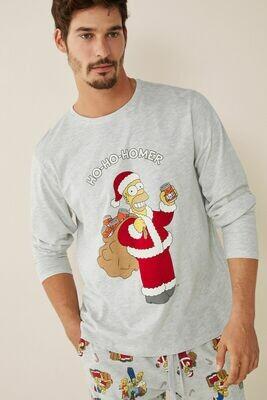 Pants Pijama Simpson Navidad