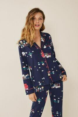 Pants Pijama Largo Snoopy