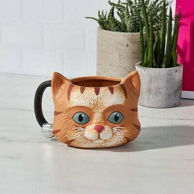 Taza Gato Captain Marvel