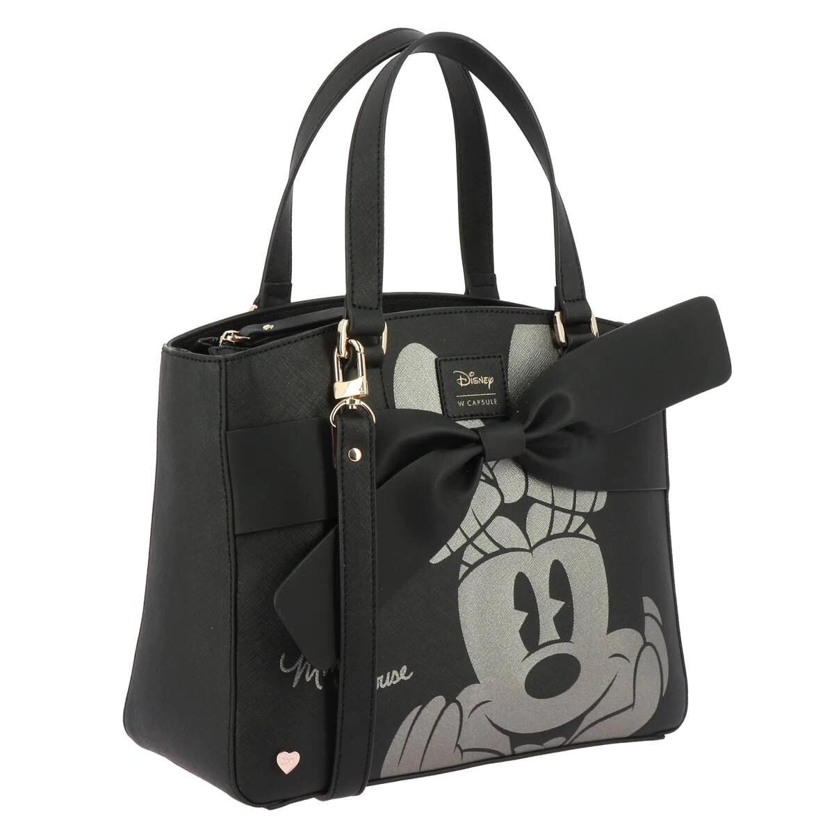 Bolsa Minnie Mouse Negra X40