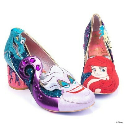 Tacones La Sirenita Ariel Disney