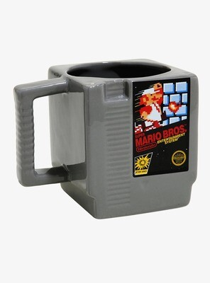 Taza Super Mario Bros Cartucho