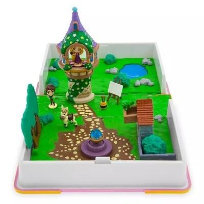 Libro Figura Disney Rapunzel