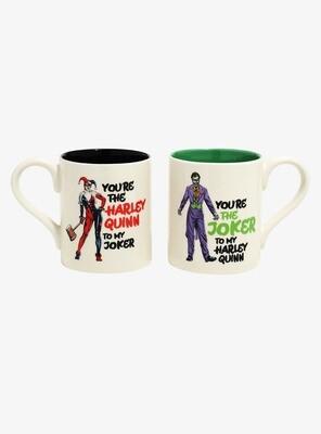 Set de Tazas Harley Quinn Joker