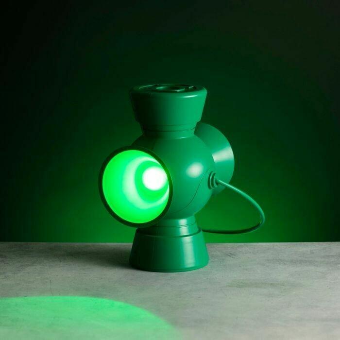 Lampara Linterna Verde