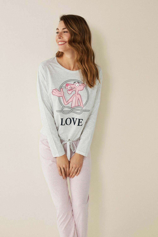 Pants Pijama Pantera Rosa X0