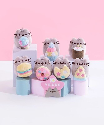 Mini Peluchitos Pusheen 10 Años Aniv