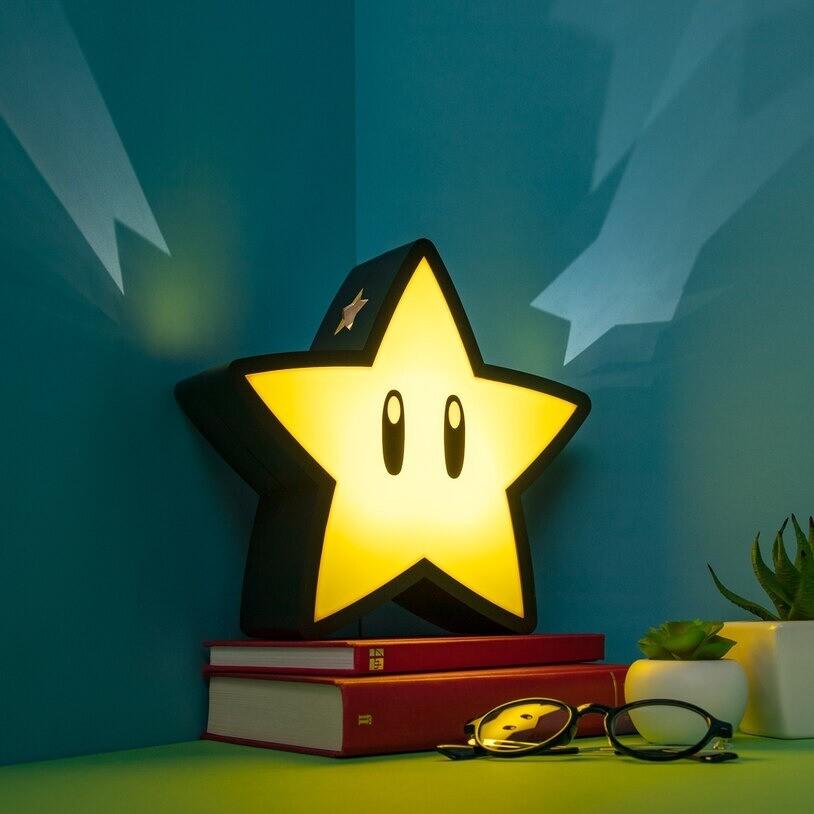 Lampara Super Mario Estrella