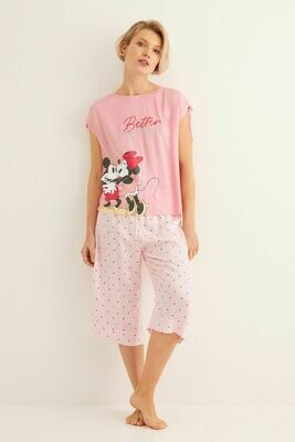 Pants Pijama Mickey y Minnie AD00