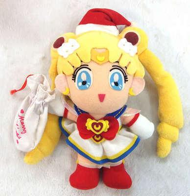 Peluche Sailor Moon Navidad