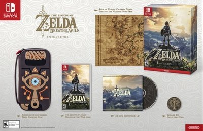 Zelda Breath of the Wild Edicion Limitada