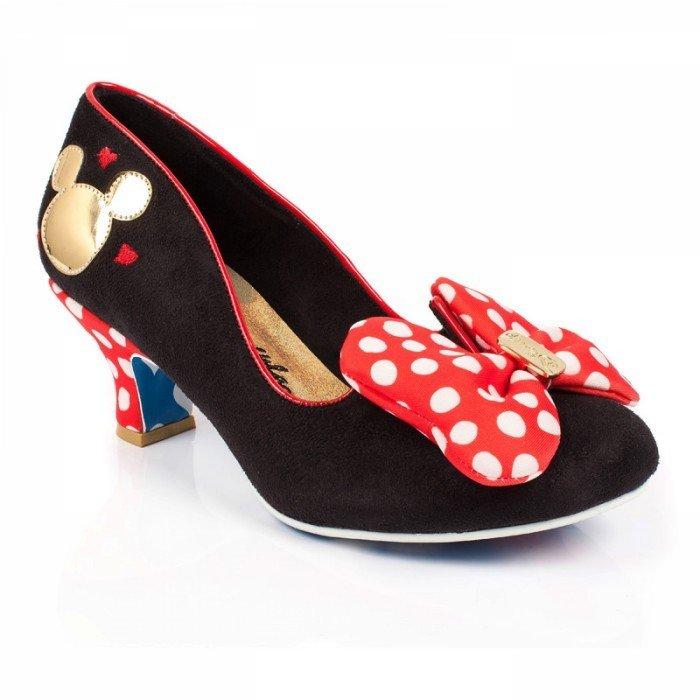 últimas tendencias de 2019 exuberante en diseño detallado Tacones Minnie Mouse