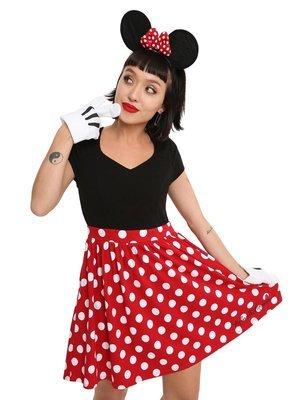 Vestido Cosplay Minnie Mouse