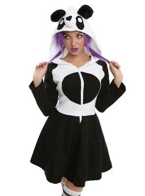 Vestido Cosplay Panda