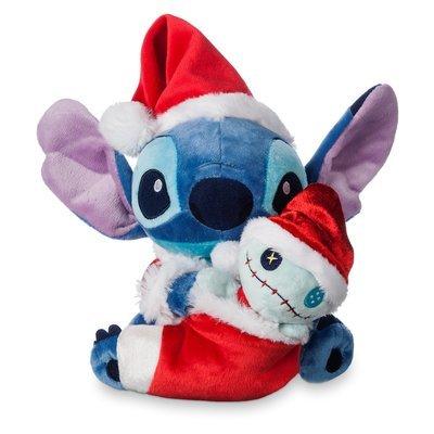 Peluche Lilo & Stich Navidad