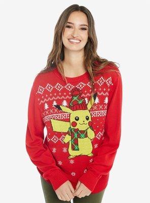 Sueter Navideño Pikachu Limitado