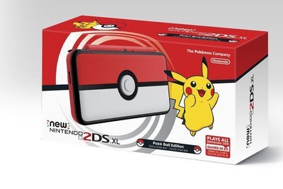 2DS Pokemon Edicion Pokebola