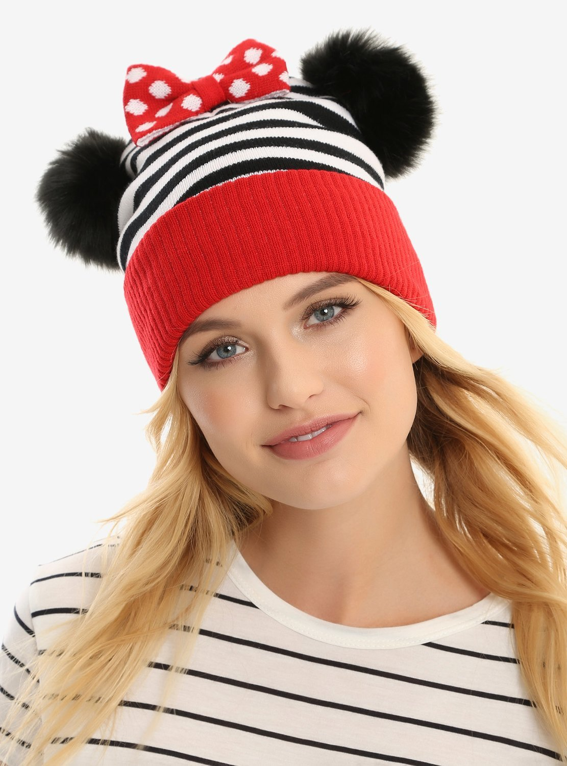 Gorro Minnie Mouse Kawaii