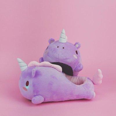 Pantuflas Bebe Unicornio
