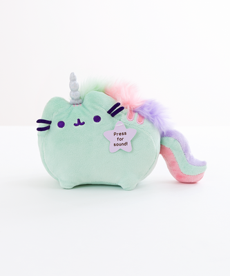 Peluche Pusheen Unicornio Verde