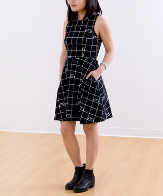 Vestido Pusheen Negro