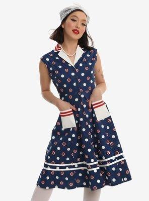 Vestido Capitan America L08